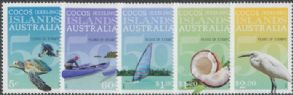 CKI SG479-83 50th Anniversary of Cocos (Keeling) Islands Stamps set of 5